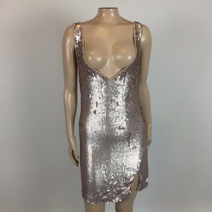 Intimately free People Pink Sequin Mini dress EE13
